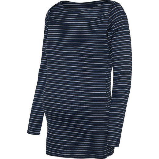Mamalicious MLPHILIPPA L/S JERSEY TOP A. O. - Umstandsblusen - weiblich