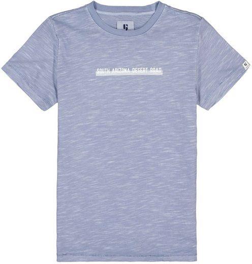 Garcia T-Shirt »in melierter Optik«