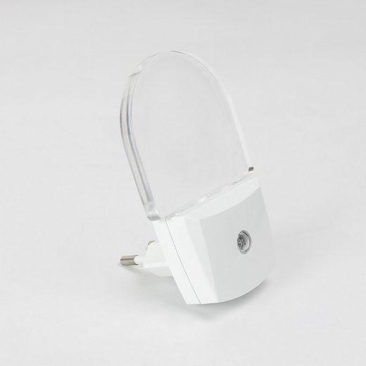 Licht-Erlebnisse Steckdosenleuchte »PARIS LUX LED Nachtlicht mit Sensor blaues Licht Kinderzimmer Leuchte Lampe«