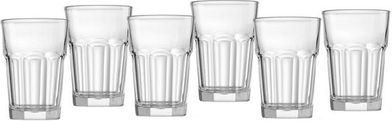 Ritzenhoff & Breker Gläser-Set »Riad«, Glas, Facetten-Optik, 6-teilig