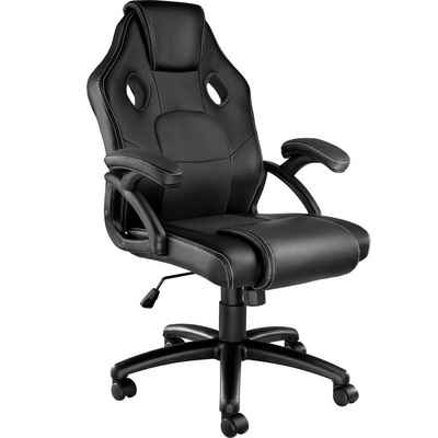 tectake Gaming-Stuhl »Bürostuhl Mike« (1 Stück), einstellbare Wippmechanik