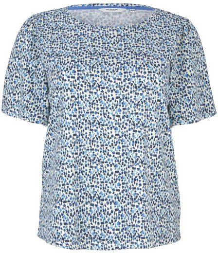 TOM TAILOR MY TRUE ME T-Shirt mit kurzen Volant-Ärmeln