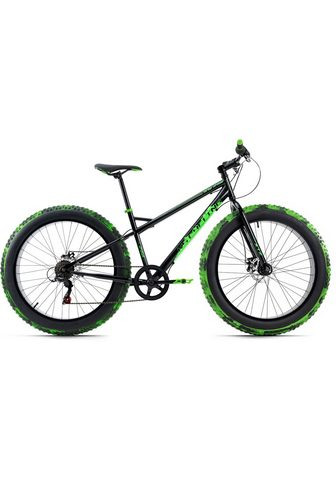 KS Cycling Fatbike »SNW2458« 6 Gang Shimano Tourn...