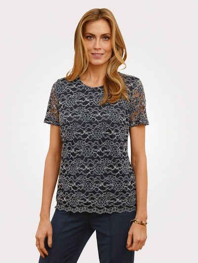 Mona T-Shirt in floraler Spitze