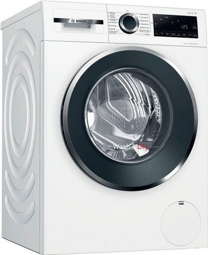 BOSCH Waschtrockner WNG24440/6 WNG24440, 9 kg, 6 kg, 1400 U/min, Energieeffizienzklasse Wasch-Zyklus C