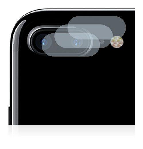 BROTECT Schutzfolie »Panzerglasfolie für Apple iPhone 7 Plus (nur Kamera)«, (3 Stück), Schutzglas Glasfolie klar