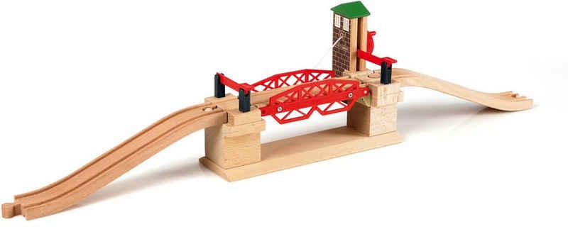 BRIO® Spielzeugeisenbahn-Brücke »BRIO® WORLD Hebebrücke«, FSC®-Holz aus gewissenhaft bewirtschafteten Wäldern