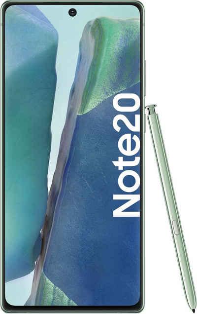 Samsung Galaxy Note20 Smartphone (16,95 cm/6,7 Zoll, 256 GB Speicherplatz, 64 MP Kamera)