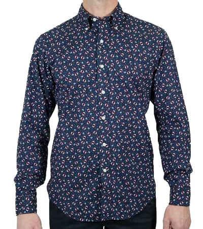 Polo Ralph Lauren Langarmhemd »POLO RALPH LAUREN Sommer-Hemd elegantes Herren Baumwoll-Hemd Freizeit-Hemd Marine«
