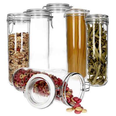 MamboCat Vorratsglas »6er Set Ambala Fido Spaghetti Vorratsglas rund 146cl«