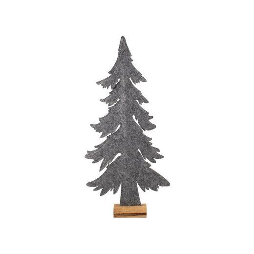 HTI-Living Weihnachtsfigur »Weihnachtsbaum auf Holzsockel«