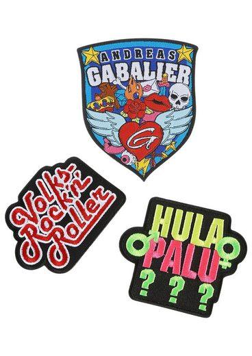 Sticker, (3-tlg), Andreas Gabalier Patches zum Aufbügeln