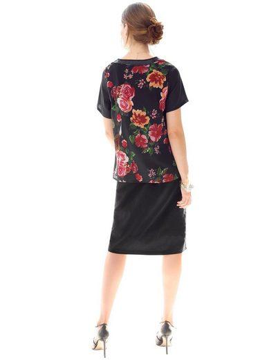 Classic Basics Kleid mit extra Georgette-Lage