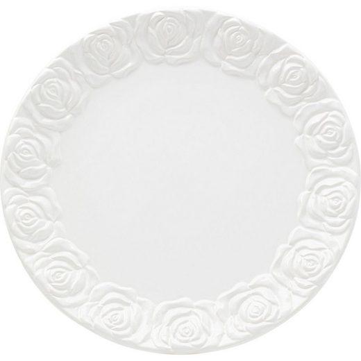 KARE Speiseteller »Platzteller Rosa 35cm«