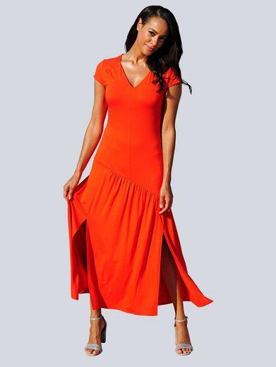 Alba Moda Strandkleid mit V-Ausschnitt