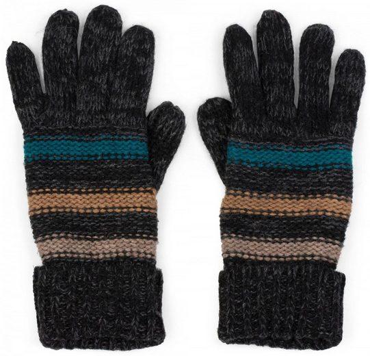 styleBREAKER Strickhandschuhe Strick Handschuhe mit Streifen