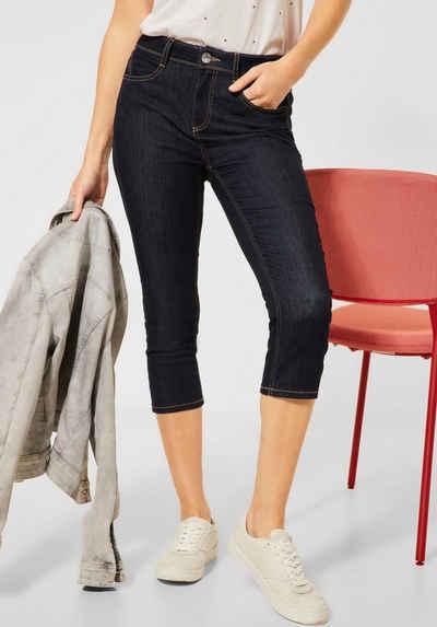 STREET ONE 3/4-Jeans »York« mit Kontrastnähten