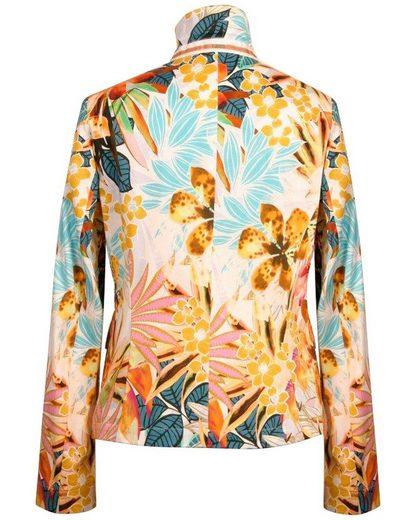 White Label Blouson  Blazer mit Blumenprint