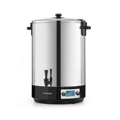 Klarstein Einkochautomat KonfiStar 40 Digital Einkochautomat Getränkespender 2500W 40L 100°C 180min Edelstahl, 2500 W