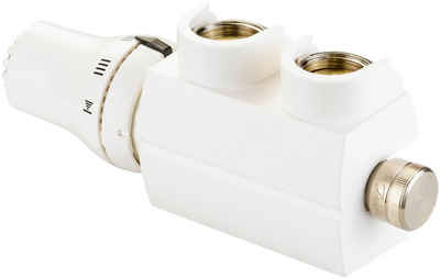 Sanotechnik Heizkörperthermostat »Badheizkörper-Regler«, (Set)
