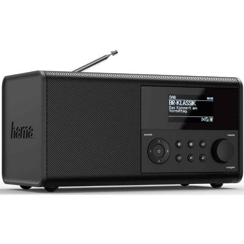 Hama »DIR90BT - Heimradio - schwarz« Internet-Radio