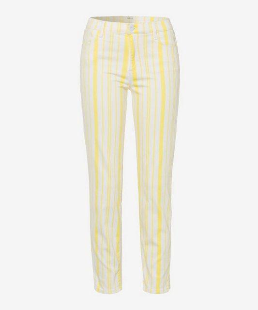 Hosen - Brax 5 Pocket Jeans »Style Shakira S« › beige  - Onlineshop OTTO