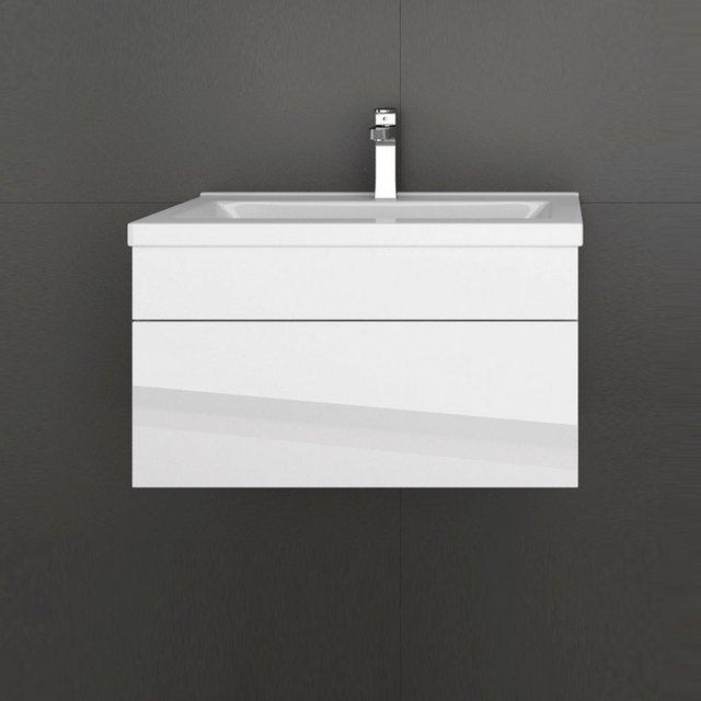 Waschtische - HOME DELUXE Waschtisch »Wangerooge S« (Set, 2 St), edle Hochglanzoptik  - Onlineshop OTTO
