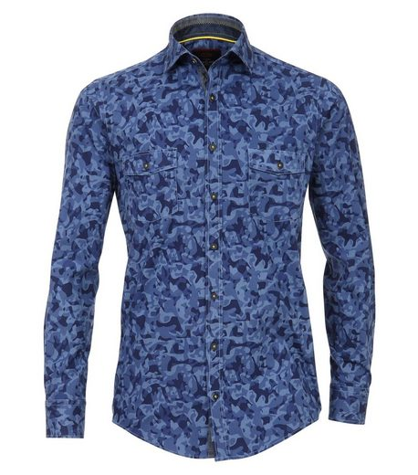 CASAMODA Hemd »Hemd mit modischem Druck« Kent
