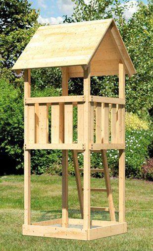 ABUKI Spielturm »Rosie A«, BxTxH: 107x107x291 cm