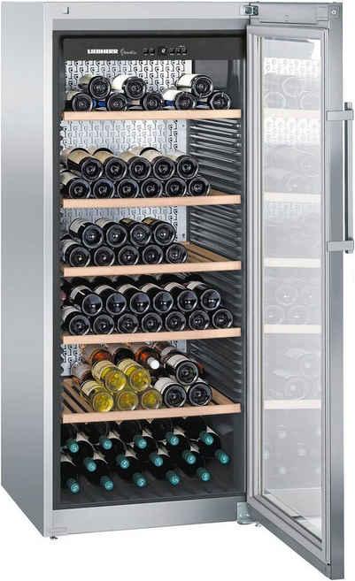 Liebherr Weinkühlschrank WKes 4552-22, für 201 Standardflaschen á 0,75l