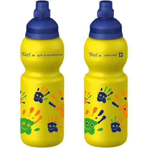 Fizzii Trinkflasche »Fizzii Trinkflasche Hände, 330ml«