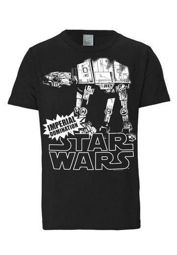 LOGOSHIRT T-Shirt mit coolem Frontprint »AT- AT - Krieg der Sterne«
