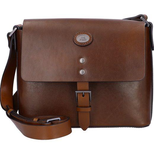 THE BRIDGE Messenger Bag »Lorenzo«, Leder