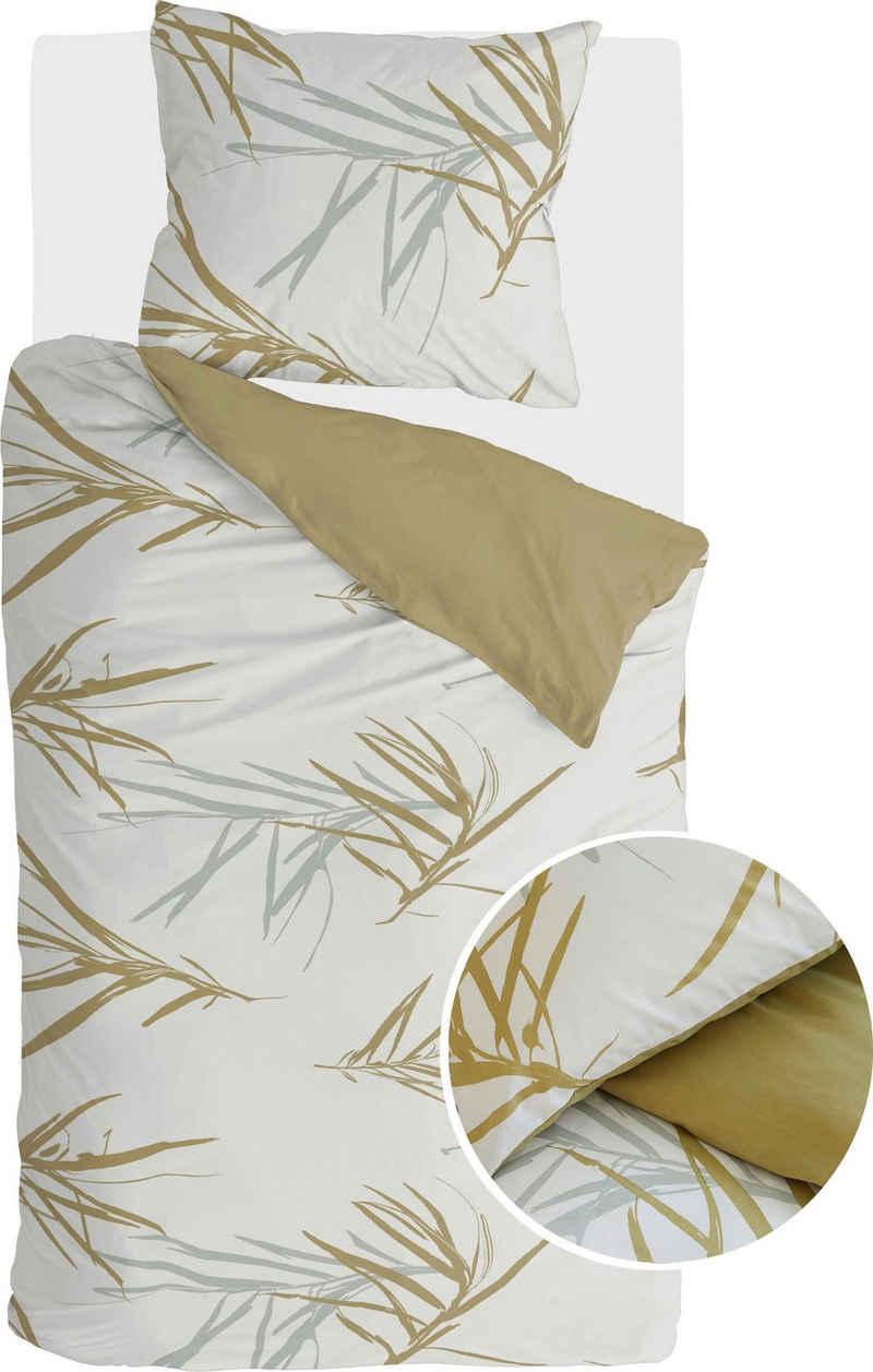Wendebettwäsche »Bamboo Grasses«, Walra, mit Gräsern