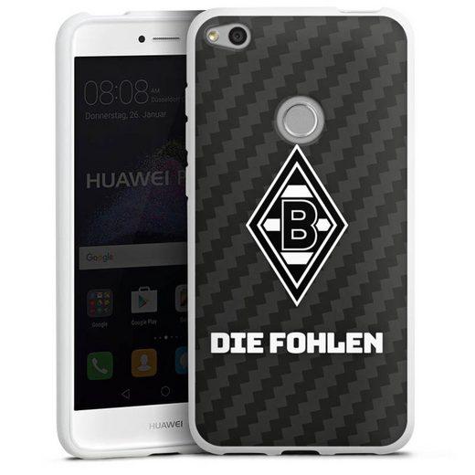 DeinDesign Handyhülle »Die Fohlen Carbon« Huawei P9 Lite (2017), Hülle Borussia Mönchengladbach Carbon Gladbach