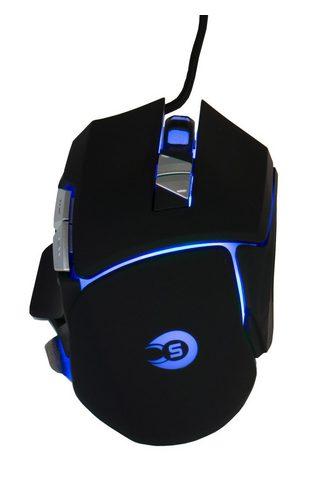 Hyrican »GM551 Gaming Maus« Gaming-Maus (kabel...