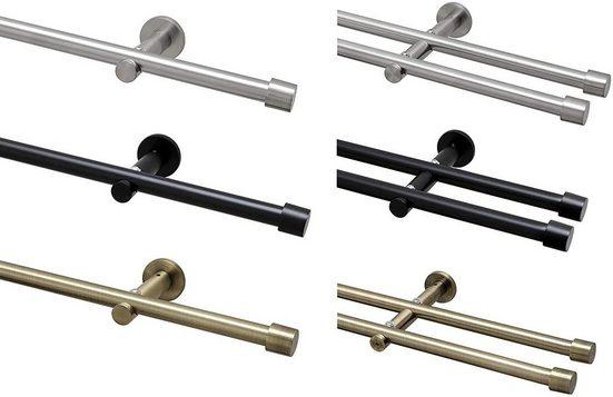 Gardinenstange »Ø 16mm / 1- oder 2-Lauf«, Garduna, 1-läufig