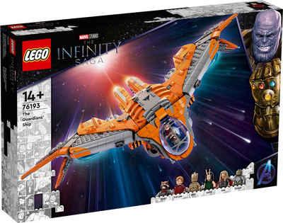 LEGO® Konstruktionsspielsteine »Das Schiff der Wächter (76193), Marvel Avengers Movie 4«, (1901 St)