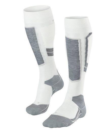 FALKE Skisocken »SK4 Wool Skiing« (1-Paar) mit leichter Polsterung