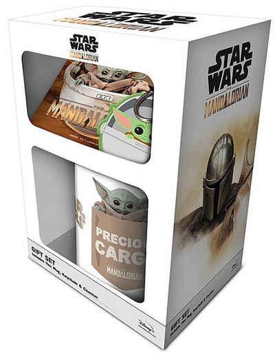 Star Wars Tasse »The Mandalorian Geschenkset Yoda Baby 3-teilig«