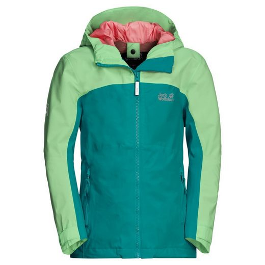 Jack Wolfskin 3-in-1-Funktionsjacke »SAANA JACKET GIRLS«