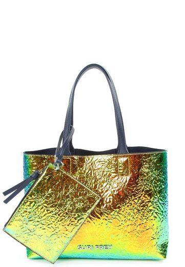 SURI FREY Shopper »SURI Black Label Tiffany«, Emblem