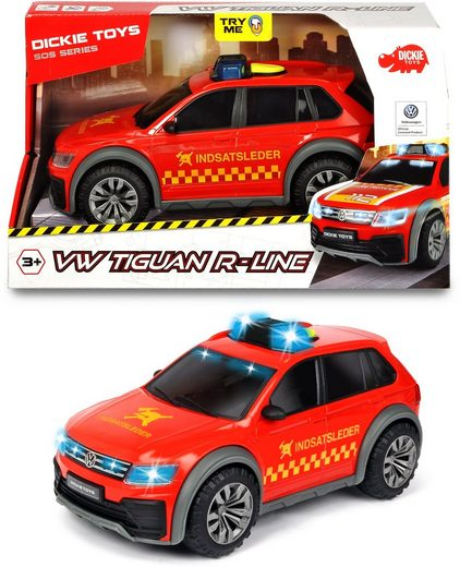 Dickie Toys Spielzeug-Auto »VW Tiguan R-Line Fire Car«, mit Licht und Sound