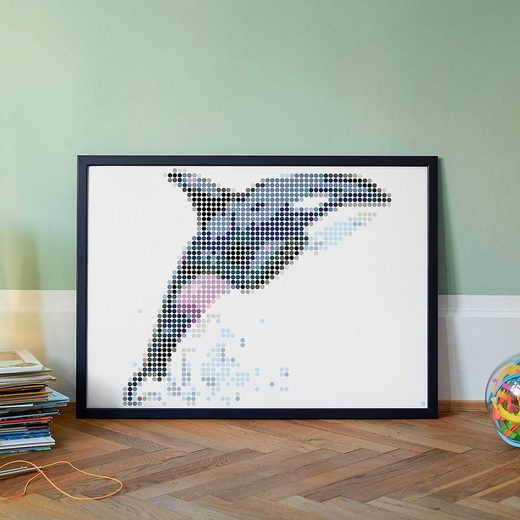 Dot On Malvorlage »dot on art - orca, 50 x 70 cm«