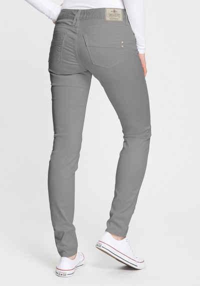 Herrlicher Slim-fit-Jeans »TOUCH SLIM SATIN« Powerstretch aus Satin