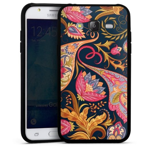 DeinDesign Handyhülle »Floral autumn 1« Samsung Galaxy J5 (2015), Hülle Muster Girl Style Orient