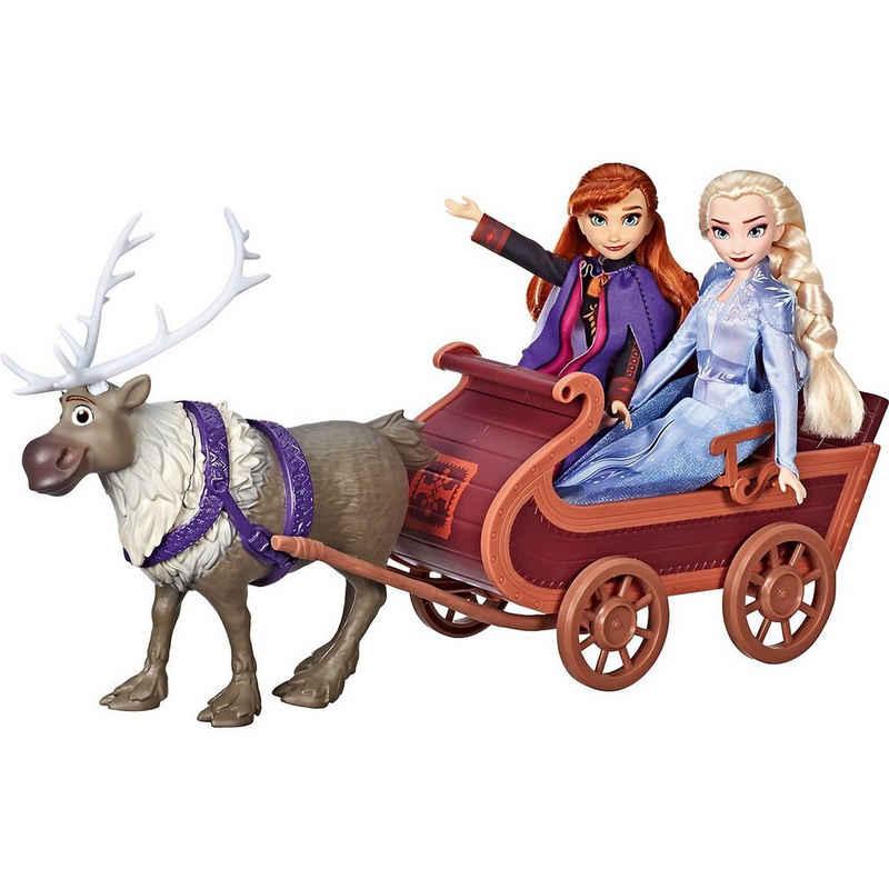 Hasbro Anziehpuppe »Disney Die Eiskönigin 2 Schlittenfahrt mit Sven«