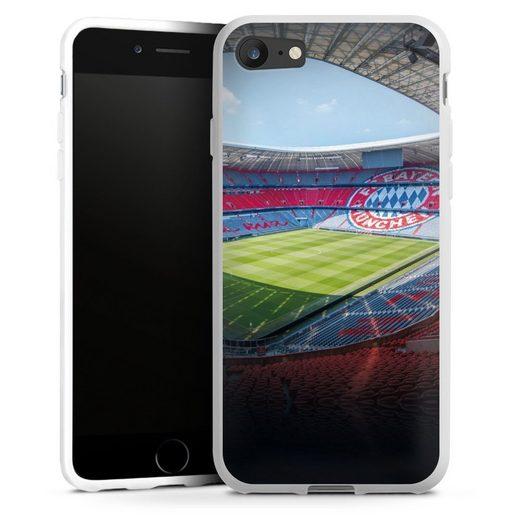 DeinDesign Handyhülle »Stadion FC Bayern - Color« Apple iPhone SE (2020), Hülle FC Bayern München FCB Stadion
