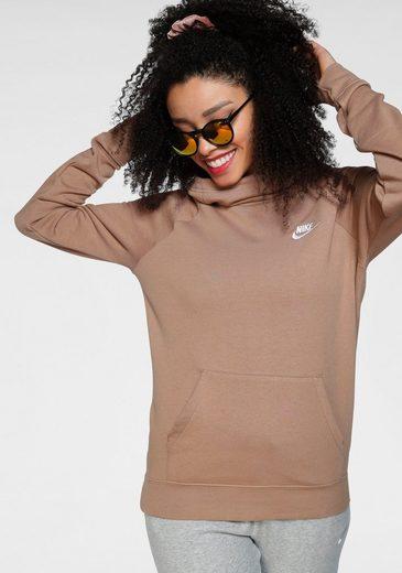 Nike Sportswear Kapuzensweatshirt »Essential Women's Funnel-Neck Fleece Pullover Hoodie«