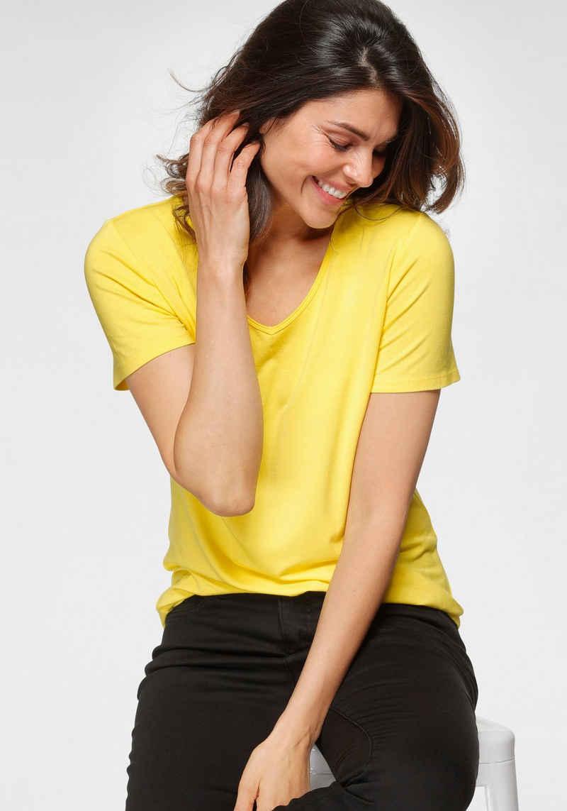 OTTO products V-Shirt nachhaltig aus LENZING™ ECOVERO™ Viskose